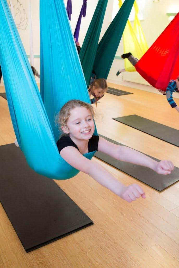 Kids Aerial Parties at Tring Yoga Studio_1
