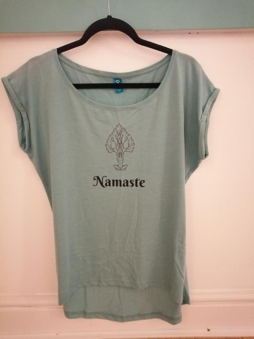 Ladies Yoga T-shirt Yamaste