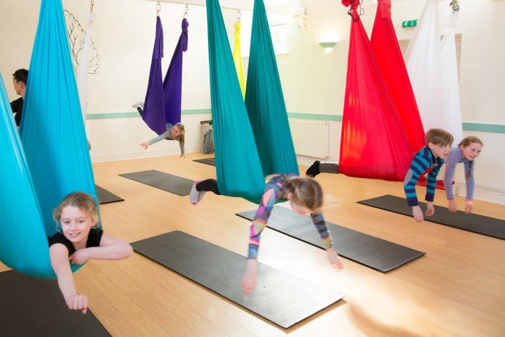 Children's Birthday Aerial Parties at Tring Yoga Studio_28