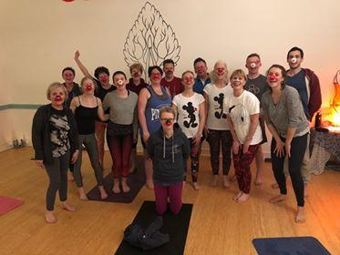Red Nose Charity Tring Yoga studio Community