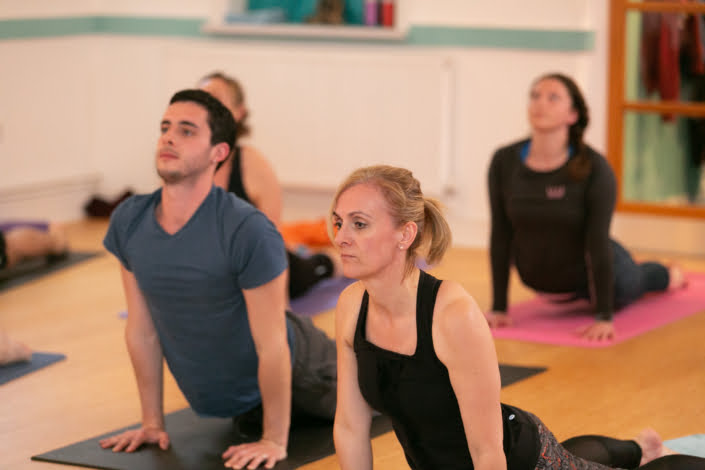 Jacqueline and Kyle at Tring Yoga Studios